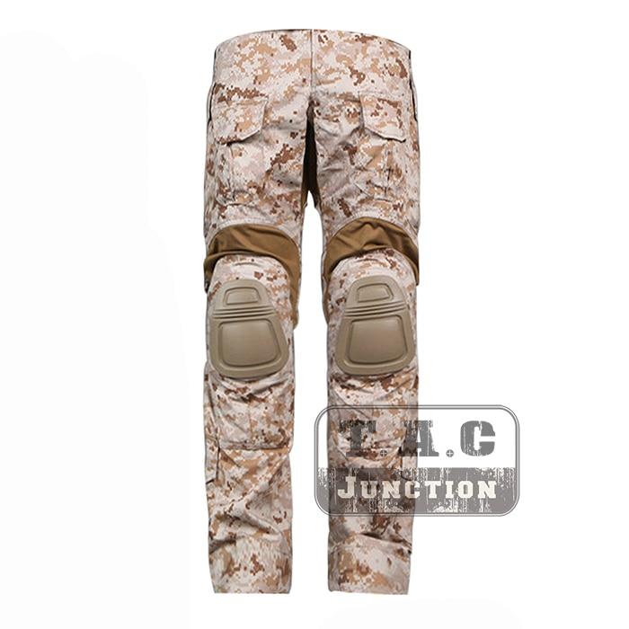 Tactical Emerson New BDU G3 Combat Pants Emersongear CP Style Battlefield Trousers Assault Uniform w/ Knee Pads AOR1 new emersongear tactical woman g3 combat uniform pants