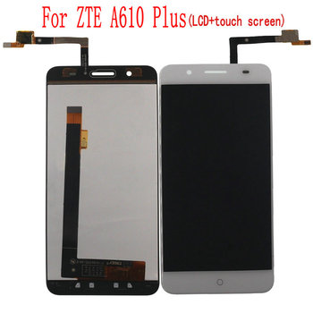 цена на For ZTE Blade A610 Plus LCD Display Touch Screen Digitizer Assembly For ZTE Voyage Blade A610 Plus Screen LCD Free Tools