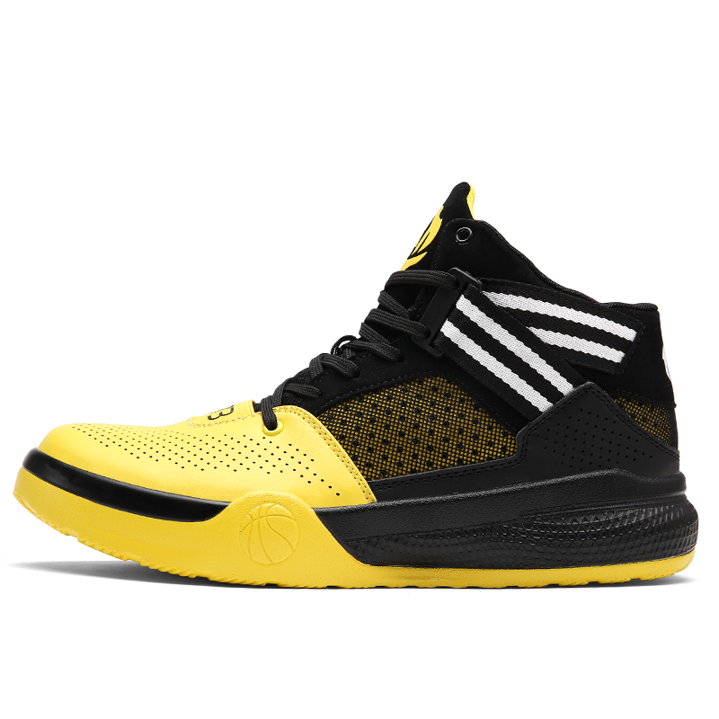 2017 New Design Basketball Shoes Men Cushion Sport Sneakers Black Durable Boys Popular Basketball Sneakers For School