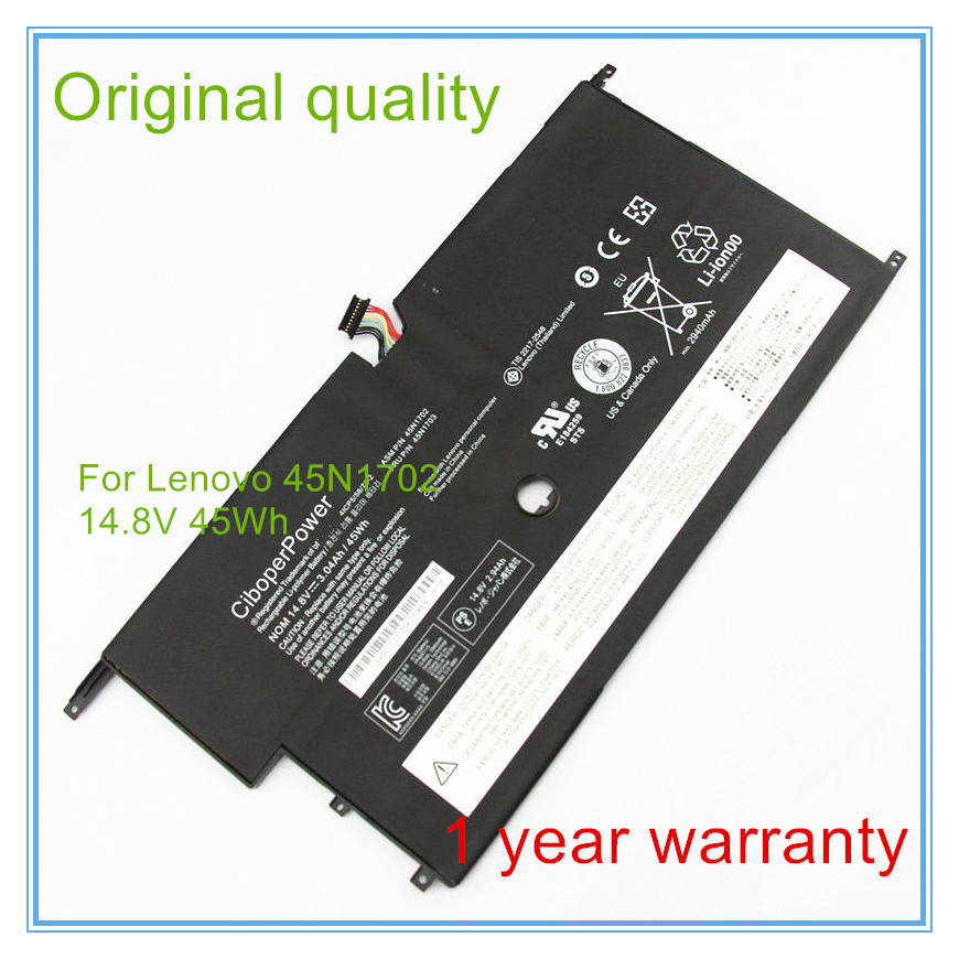 Original Laptop Battery FOR New X1C X1 45N1702 45N1703 41CP5/58/73-2Original Laptop Battery FOR New X1C X1 45N1702 45N1703 41CP5/58/73-2