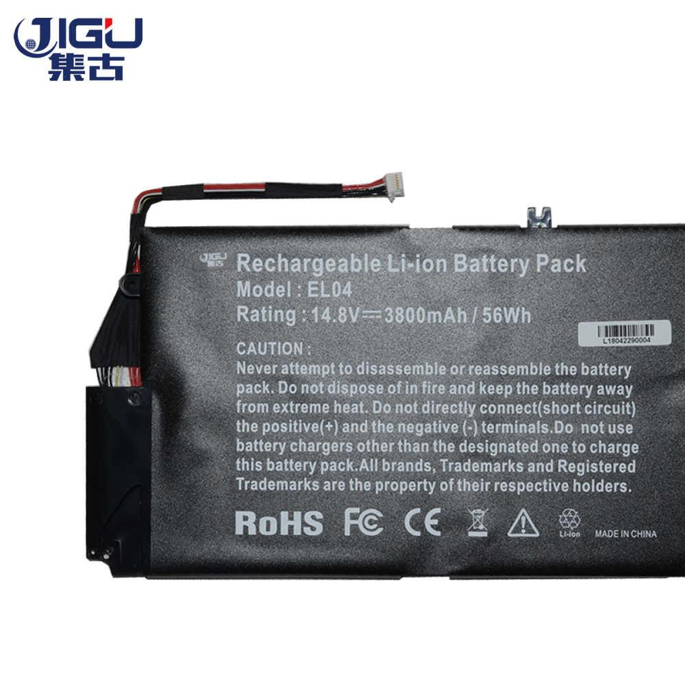 JIGU 3 תאי סוללה למחשב נייד EL04 EL04XL ELO4XL HSTNN-IB3R UB3R TPN-C102 עבור HP ENVPR4 I5-3317U קנאת 4 4T-1000 קנאת TouchSmart 4
