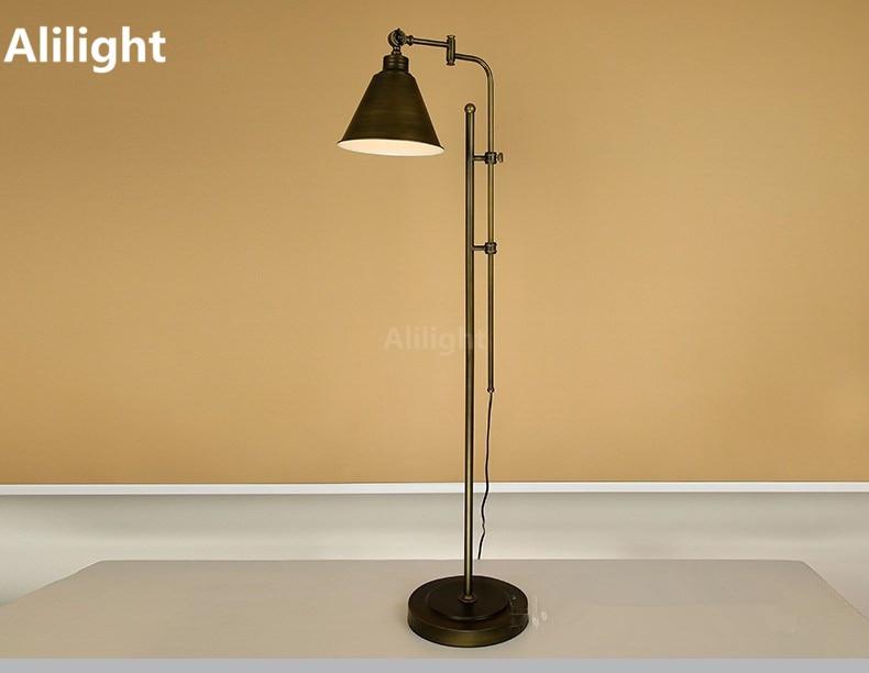 Industriele staande lamp goedkoop gepo staande lamp met witte