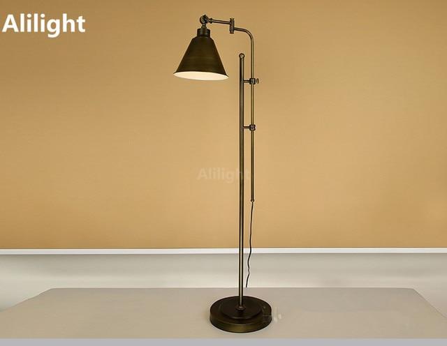 Vintage Slaapkamer Lampen : Vintage vloer lampen loft land industrie metalen vloer licht