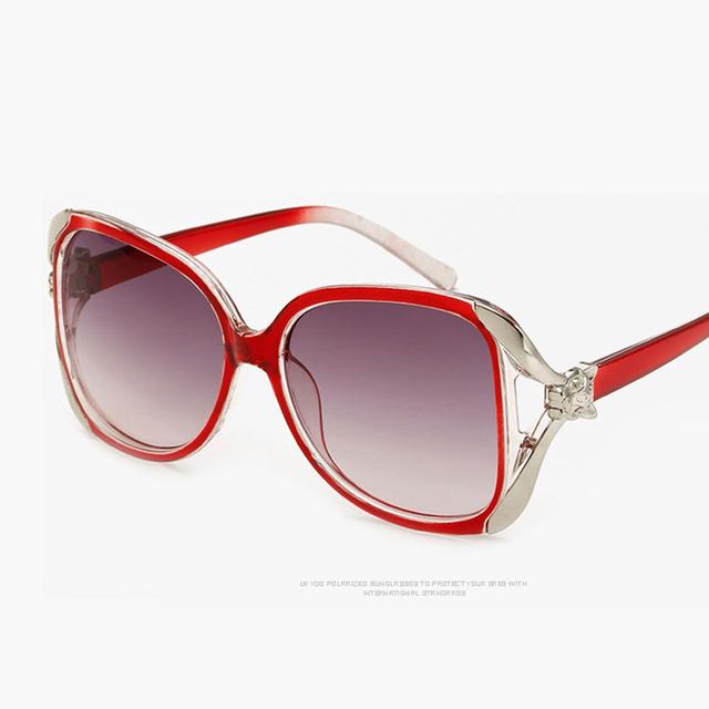 2017 Oversize Cat Eye Sunglasses Women Brand Designer Luxury Sexy Sun Glasses for Ladies Oculos De Sol Feminino Sunglasses