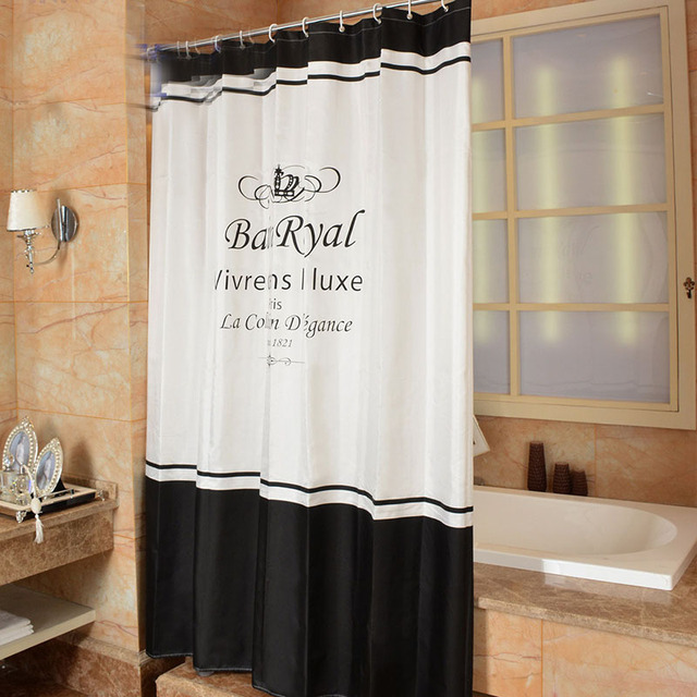 Aliexpress.com : Buy New Shower Curtain Imperial crown Pattern ...
