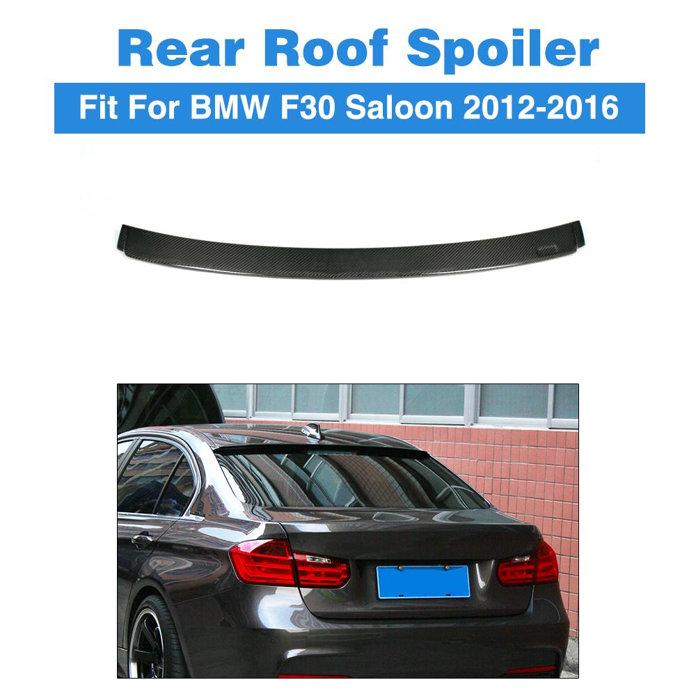 Carbon Fiber Auto Rear Roof Spoiler Windshield Wing For BMW 3 Series F30 Saloon 2012-2016 A Style Car Tuning Parts