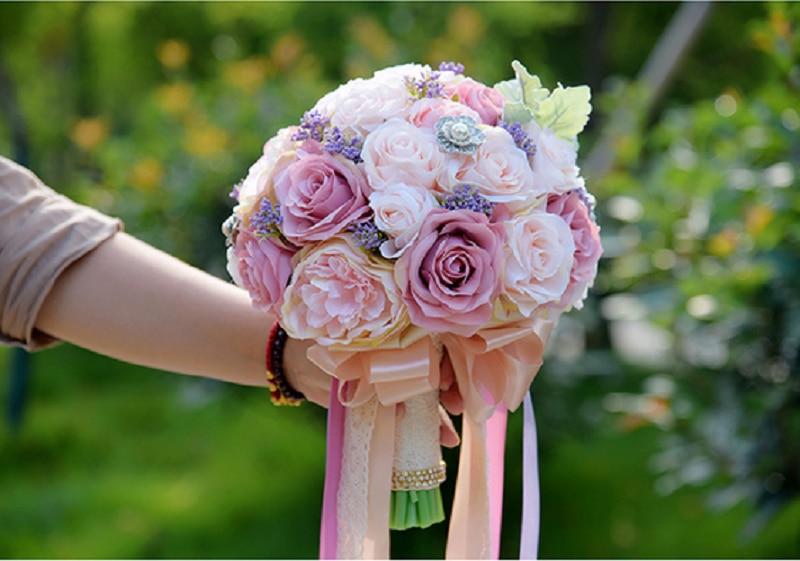 Top Sale Artificial Flowers Bouquets Colorful Flower