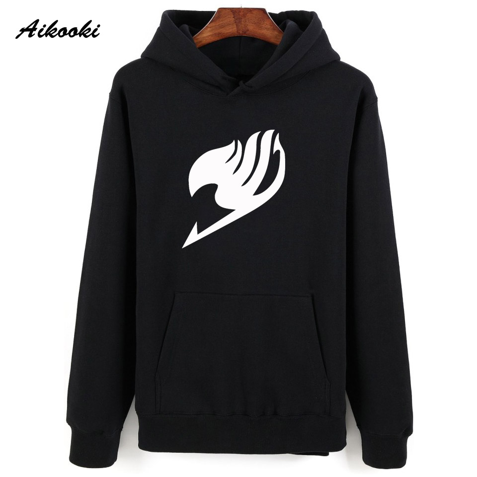 Aikooki Fairy Tail Hoodies Sweatshirt Men Women Pullover Hoody Winter Warm Male/Female Casual Clothes Fairy Tail Fashion