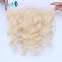 Brazilian 13×4 Lace Frontal Closure 613 Blonde 7A Lace Frontals With Baby Hair Bleached Body Wave Full Frontal Lace Closure