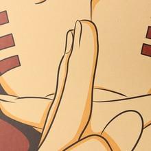 Naruto Classic Kraft Paper Poster