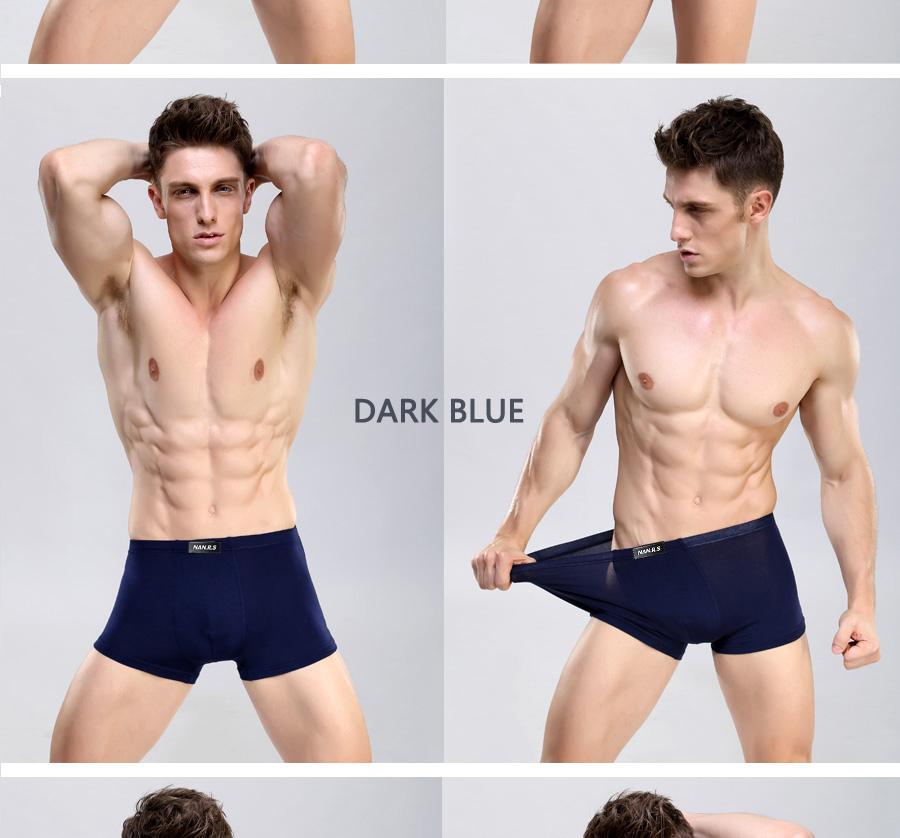 Bamboo Fibre Mens Underwear Boxer Shorts 34