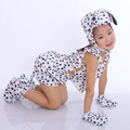 1 Set Children's Performance Costumes Cartoon Animal Set Animal Clothing Dog Modeling Short-sleeved  TRQ1141