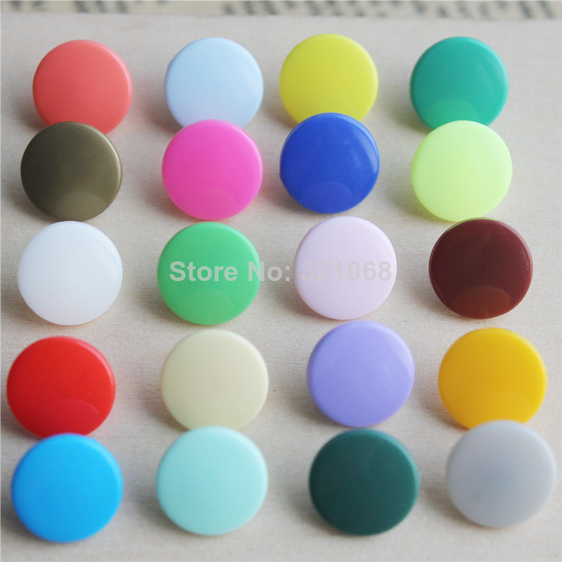 1200 Sets/lot KAM T5 Plastic Snap Button Quilt Cover Sheet Button To Package The Rain The Button Garment Accessories