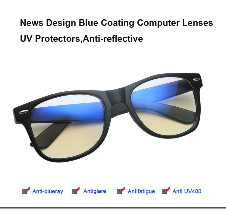 dcfb5317cd News Glasses for The Computer Spectacle Frame for men Women Eyeglasses Blue  Coating Antireflective Anti UV Oculos de Grau 713-in Eyewear Frames from  Apparel ...