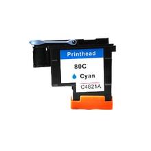 1Pcs Cyan Printhead For HP 80 Designjet 1000 1050c 1055cm Printer CA4820A hp 80 c4846a cyan