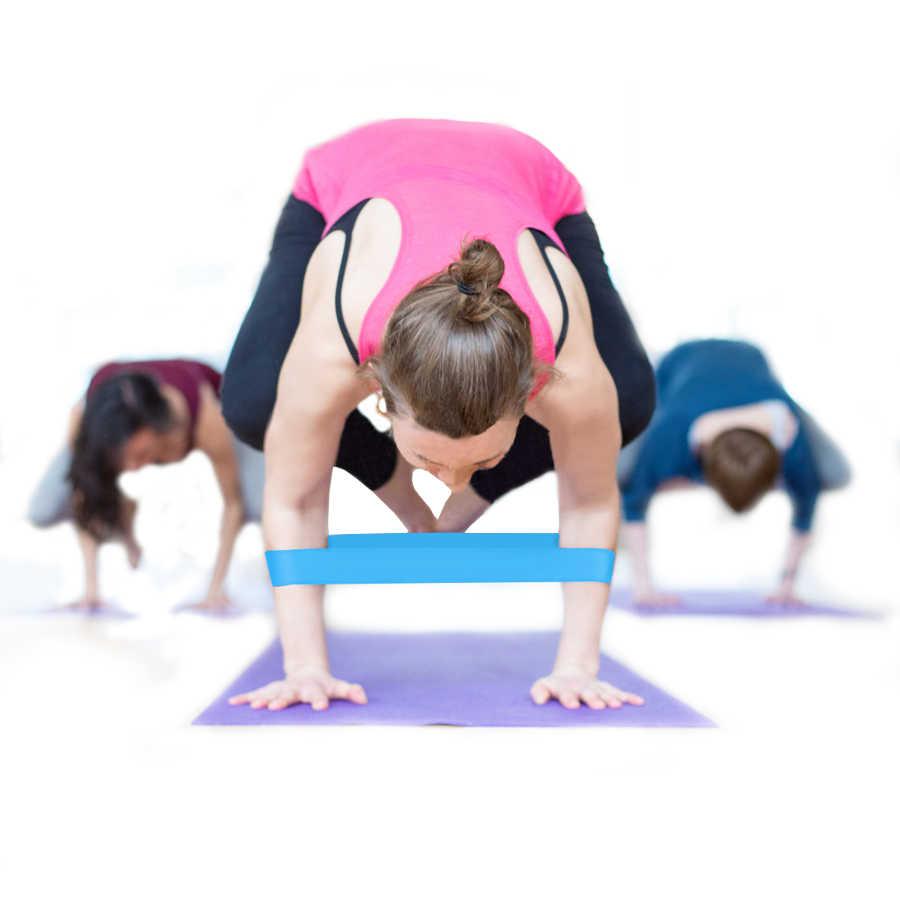 Fitness gumy taśmy oporowe trening Crossfit ciągnąć linę gumowa pętla lateksowe na siłownię trening siłowy joga sprzęt do ćwiczeń Expander