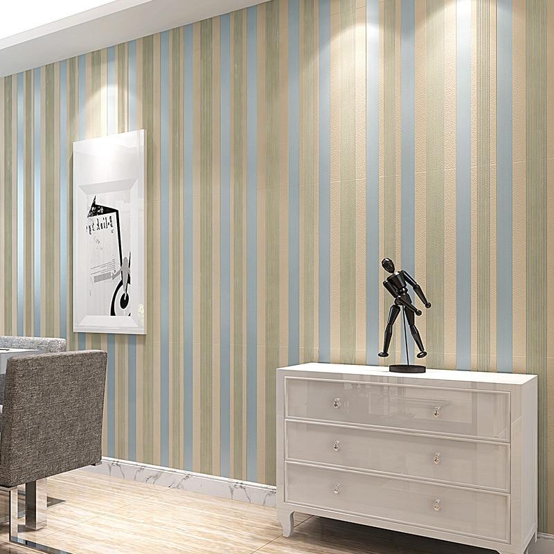 Clásica 3d moderno Papel pintado De rayas verticales Wallpapers ...