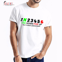 2QIMU Mens Letter Print T-Shirts 2019 Summer Sports Street Style Top Tees Short Sleeve Casual O-Neck Cotton Fitness T-Shirt