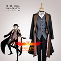 (Animation Version) Bungo Stray Dogs Maffia Nakahara Chuya Cosplay Custom Costume(W0928)