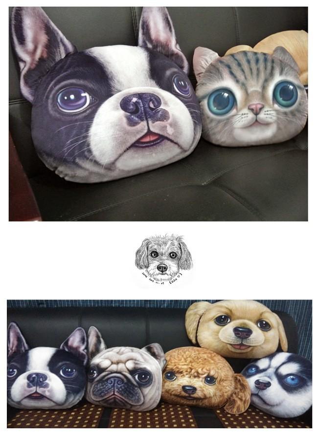 Creative 3D Cat Decorative Pillowcase
