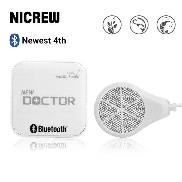 NICREW 4th Bluetooth Chihiros Doctor 3 in 1 Aquarium Algae Cleaner Electronic Inhibit Algae Sterilizer for Plants Fish Shrimp