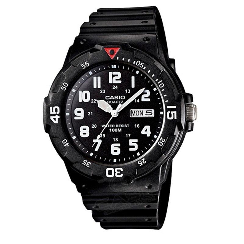 Casio Часы Топ Мода Спорт кварцевые Спорт Для мужчин наручные Мода 2017 часы Элитный бренд Relogio Masculino MRW-200H-2B