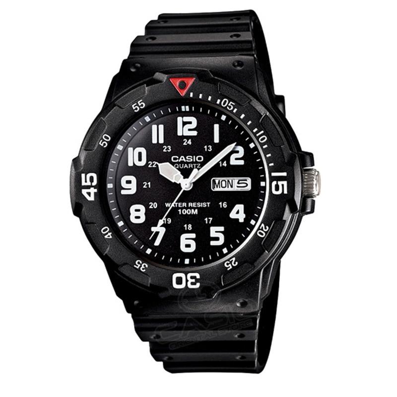Casio montre Top Mode Sport Quartz Sport Hommes Montre-Bracelet De Mode 2017 Horloge Marque De Luxe Relogio Masculino MRW-200H-2B