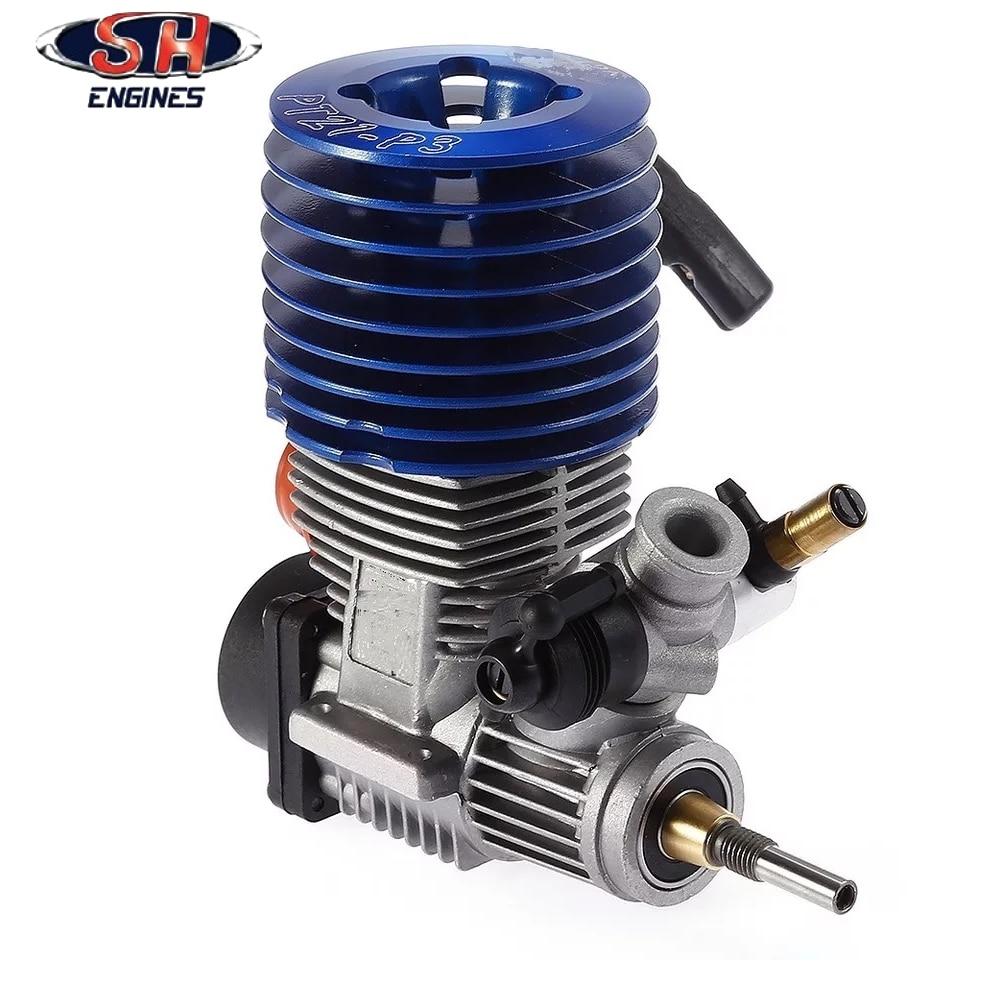 1 قطعة 83012 SH21 SH 21 1/8 نيترو سباق محرك موتور SH21 المحرك 3.48 cc m21 p3 HSP 1/8 الميثانول  سوبر الطاقة-في قطع غيار وملحقات من الألعاب والهوايات على  مجموعة 1