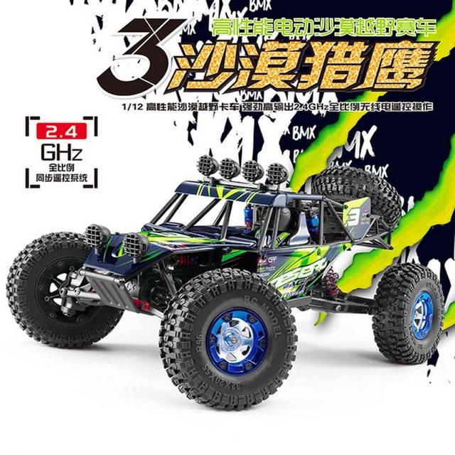Feiyue FY03 Eagle-3 1/12 2.4G 4WD Deserto Off-Road RC Car Proteção da Carga 1500 mAh 4 Canais Deserto Off-Road Carro RC para Crianças