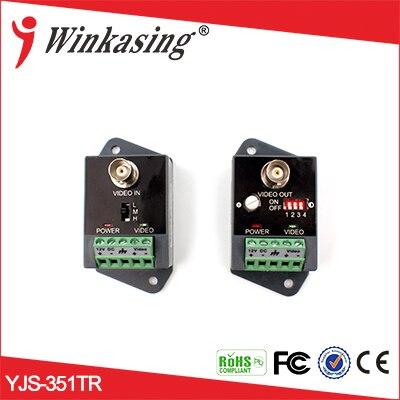 HDTVI / HDCVI / AHD-HD Video Balun active balun YJS-351TR аксессуары для видеонаблюдения yjs rs232 rs485 yjs 458f