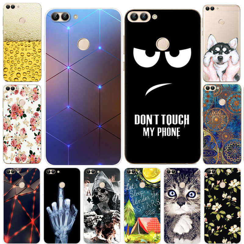 Voor Coque Huawei P Smart 2018 Case Soft TPU Siliconen Cover Cartoon Telefoon Case Voor Huawei P Smart Plus Funda PSmart Plus INE-LX1
