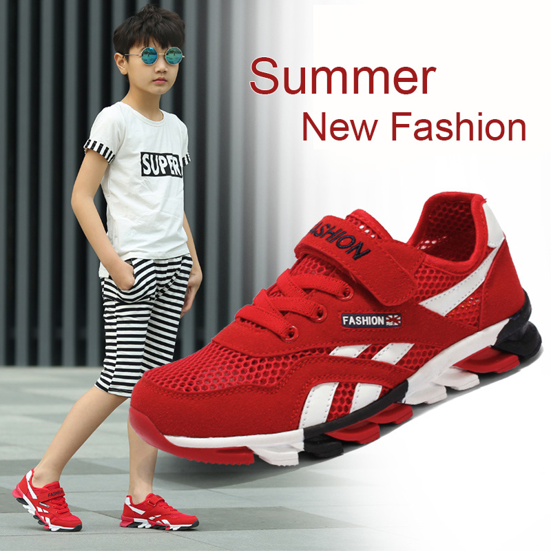 e038c8b163e75c 3 16 Years Summer News Kids Shoes Single layer Shoes Air Mesh Kids Sandal  Shoes Children Running Shoes Kids Sneakers TTH 8168-in Sneakers from Mother    Kids ...