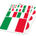 Italian Flag Italy IT Ho Car Auto Motorcycle Decal Set Sticker Scratch Off Cover Ipad Helm Notebook Laptop Handy Car-Styling