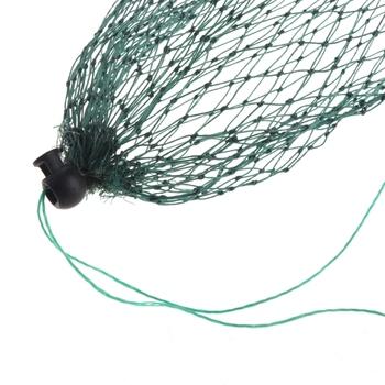 Wędkarska siatka pułapka siatka nylonowa obsada akcesoria wędkarskie proste obciążenie z torbą na ryby tanie i dobre opinie OOTDTY CN (pochodzenie) Multifilament Małe oczka 2S12157 other 1m 3 28ft 0 5m 1 64ft Fyke netto Sieci rybackie