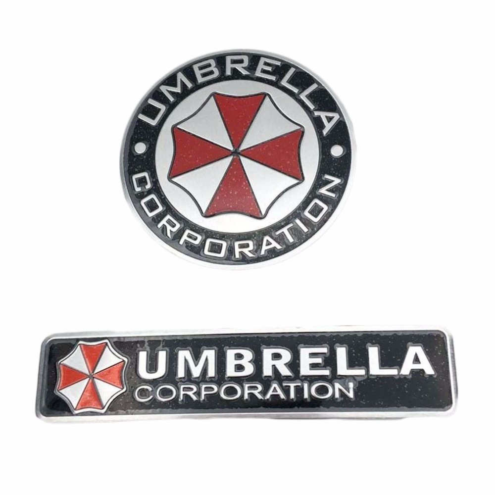 Exterior Accessories Sikeo Brand Umbrella Corporation 3d Aluminum Motorcycle Car Sticker Car-cover 2 Type For Ford Focus Bmw Mazda Opel Toyota