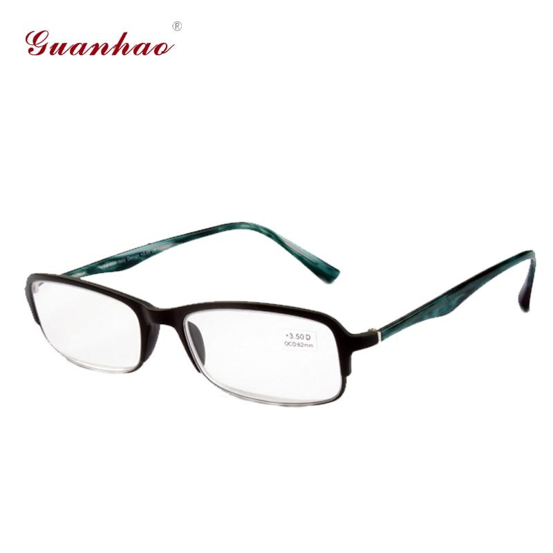 Guanhao Kacamata Baca Pria Wanita Bingkai Depan dengan Frame Mode - Aksesori pakaian - Foto 2