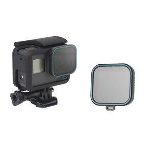 Image 2 - Set de filtro de lente ND para Gopro Hero 5 Hero 6 Hero 7, Set de 4 unidades, Protector de Cámara de Acción (ND 4 8 16) + Kit de filtro CPL para Gopro