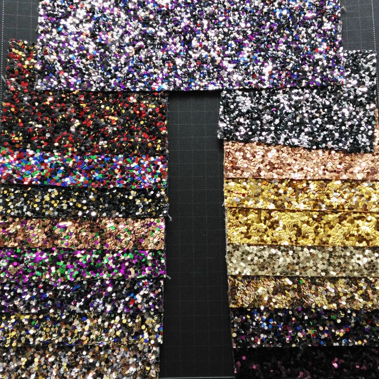 90x134cm Synthetic Leather Faux Leather Fabric Glitter Leather Multi colors Glitter Leather for Sewing BOW DIY