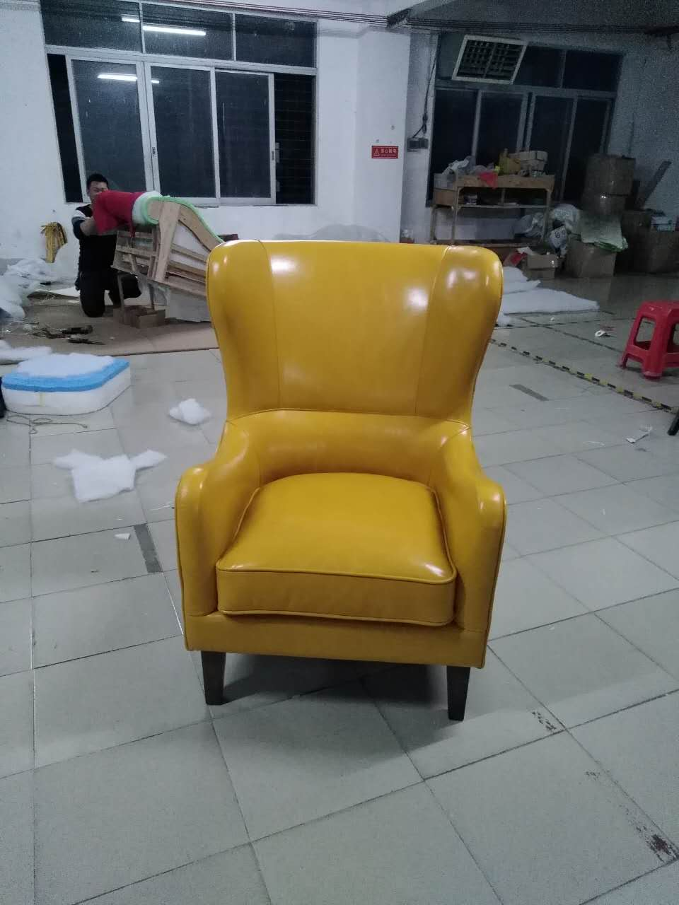 Superb Us 359 1 10 Off Cow Real Genuine Leather Sofa Living Room Chair Home Furniture Modern American Country Style Leisure Chair Shipping To Port In Dailytribune Chair Design For Home Dailytribuneorg
