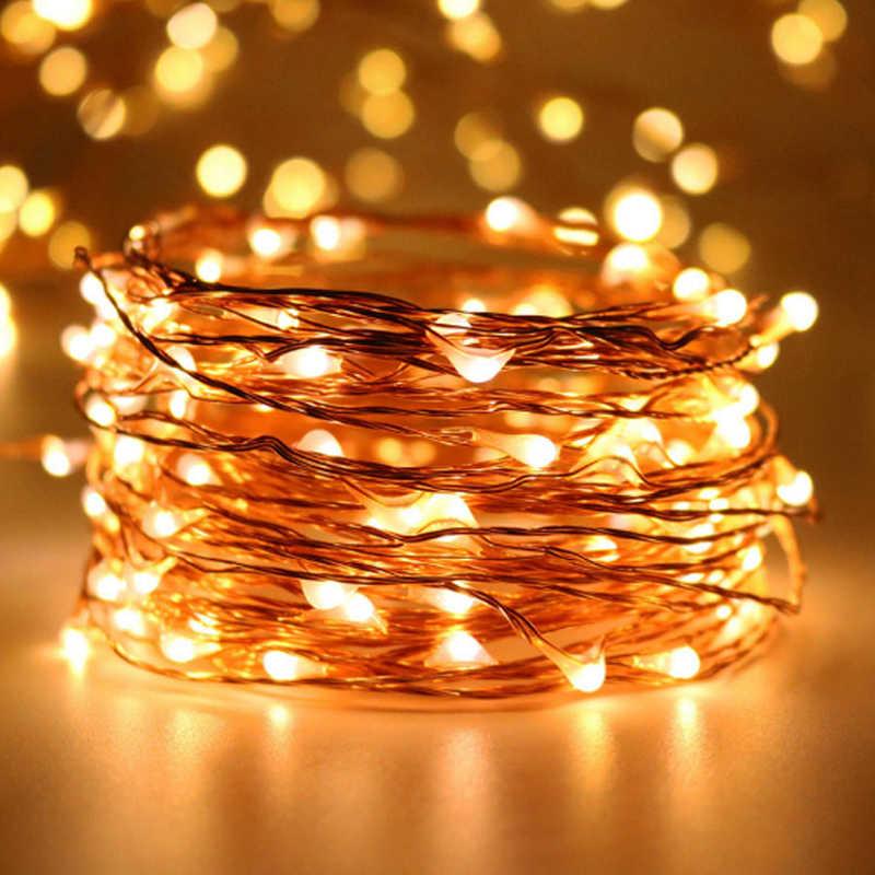 LED Fairy String Light Wedding Party Room//Outdoor Xmas Decor Lamp 10M//20M//50M