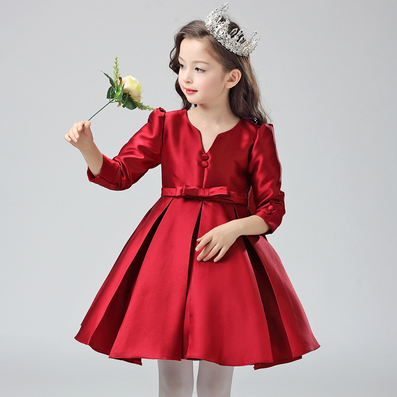 Teenager Vestido Girls Dresses Princess Pageant Wedding Bridesmaid Birthday Party Dress Ball Gown dresses Costume 10 12 14 Years luxury blue appliques girls pageant dresses ball gown children birthday wedding party dress teenage princess gown custom made