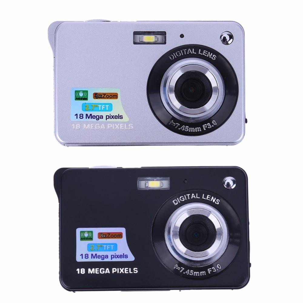 HD 18MP 8X ZOOM 2 7 Digital Video Camera DV Camcorder TFT LCD Display Battery