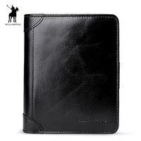WILLIAMPOLO 2019 Leather Men Wallets Wallets Man Clutch Bag Card Holder Male Purse Men Leather Wallet Purse PL278