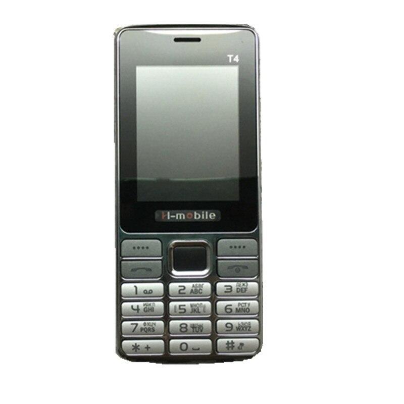 H Mobile T4 Phone with Dual SIM Card Bluetooth Flashlight MP3 MP4 FM Camera2 8 inch