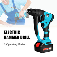 680W 220V 7800AH 3200rpm Electric Hammer Impact Drill Cordless Power Electric Drill 2 Operating Modes For Woodworking Tool