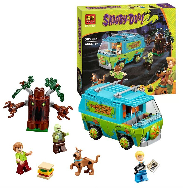 Scooby-doo the The mystery machine Doo the mystery Lego 75902 scooby Blocks Toys