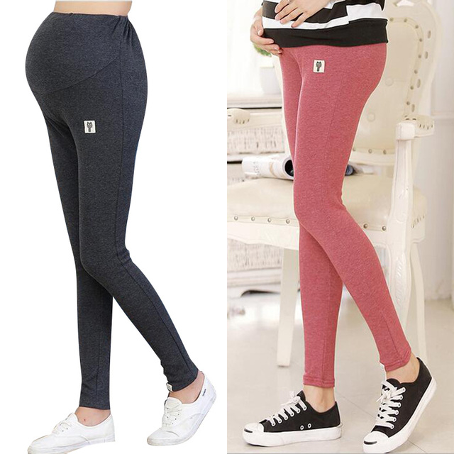 Winter Maternity Leggings Clothing Pregnancy Clothes Thickened With Velvet Pants for Pregnant Women Trousers Warm Leggings