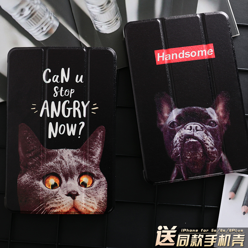 Black Cat Magnet PU Leather Case Flip Cover For iPad Pro 9.7 10.5 Air Air2 Mini 1 2 3 4 Tablet Case For New ipad 9.7 2017 mimiatrend tige for apple ipad air 1 2 air2 flip pu leather case smart cover for new ipad 9 7 2017 tablet case for ipad pro 9 7