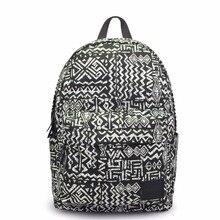 Колледж моды девушки рюкзак Цветочный печати холст рюкзак женская школьная сумка рюкзаки для девочек-подростков школьный рюкзак