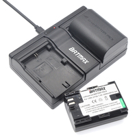 Fully Decoded 2PCS 2000mAh LP E6 LP E6 Lpe6 Camera Batteries Dual Channel USB Charger For